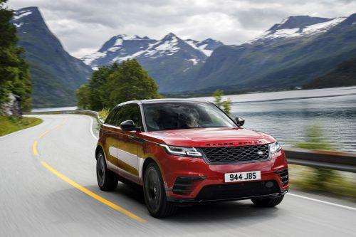 Erste VN-Testfahrten mit dem neuen Range Rover Velar kurz vor der offiziellen Markteinführung.Fotos: werk