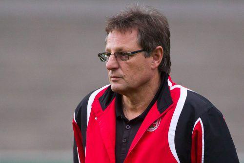 Erwin Wawra ist zumindest bis Winter Trainer in Dornbirn.Steurer