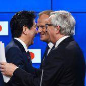 EU und Japan einigen sich auf Handelsvertrag