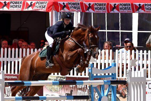 Lisa Maria Rudigier überzeugte zuletzt mit ihrem Pferd Chatanooga Z.GEPA