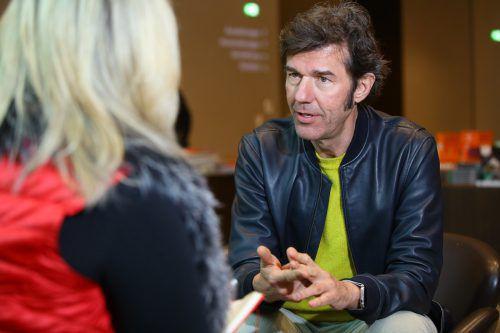 Designer Stefan Sagmeister wird vieles zur Gestaltung beitragen. VN