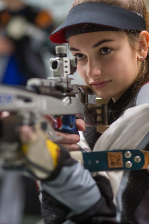 Sheileen Waibel lieferte beim Weltcup in Suhl eine Talentprobe ab. steurer