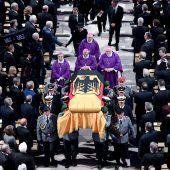 Abschied von Helmut Kohl, Kanzler der deutschen Einheit, großer Europäer, Weltpolitiker