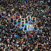 Historische WorldPride-Parade
