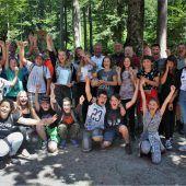 270 Schüler erlebten den Wald am Ardetzenberg
