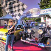 Altes trifft Neues bei der Silvretta Rallye im Montafon