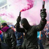 Krawalle, Drohungen und Klimastreit