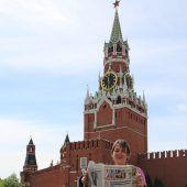 Da schau her! Die VN in Moskau