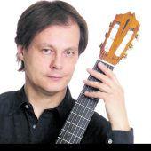 Spanische Gitarrenmusik aus vier Jahrhunderten, heute um 19 Uhr in der Martinskapelle Bregenz