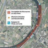 Neue Regeln am Alten Rhein