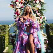 Beyonce zeigt Foto von ihren Zwillingen