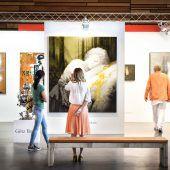 Art Bodensee lockt Kunstinteressierte in die Messehallen