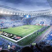 Licht für Tottenham Stadium