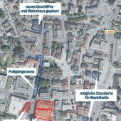 Viele offene Baustellen in der Dornbirner City