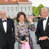 Schwedisches Königspaar in München