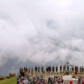 Bergmesse auf dem Fellhorn zu Ehren des heiligen Jakobus