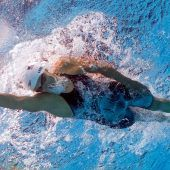 Katie Ledecki als weiblicher Phelps