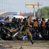 Bombenexplosion im Osten Pakistans