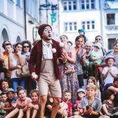 Straßenkünstler verwandeln Montfortstadt in eine Openair-Bühne