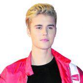 Bieber fuhr Fotografen an