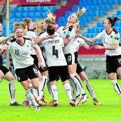 Österreichs Frauen schreiben bei der Europameisterschaft Fußballgeschichte