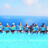 Da schau her! Die VN im Familienurlaub an der Ligurischen Küste