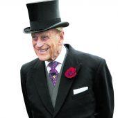 Britischer Prinz Philip geht in Rente