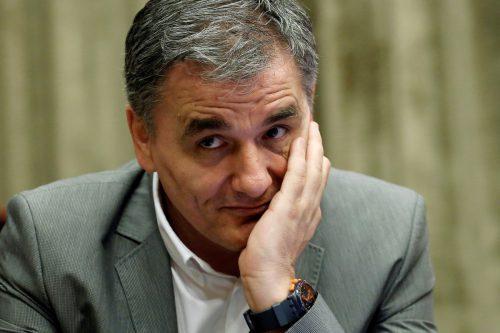 Finanzminister EfklidisTsakalotos hat die Geldflüsse im Griff.reuters