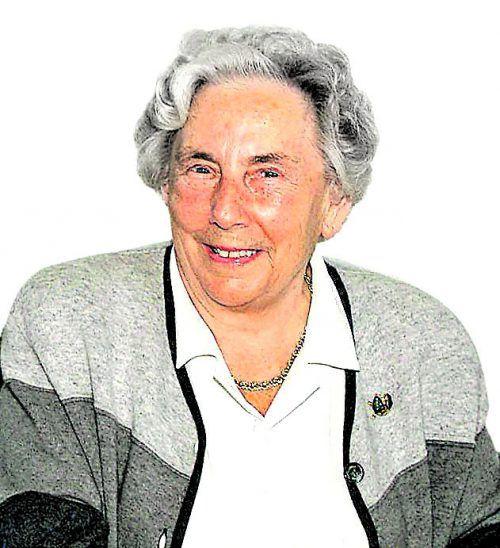 Frau Rosa Russ begleitete die Vorarlberger Nachrichten seit ihrer Heirat mit DDr. Toni Russ im Jahre 1946.