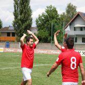 Rotes Kreuz ermittelt den Fußballmeister