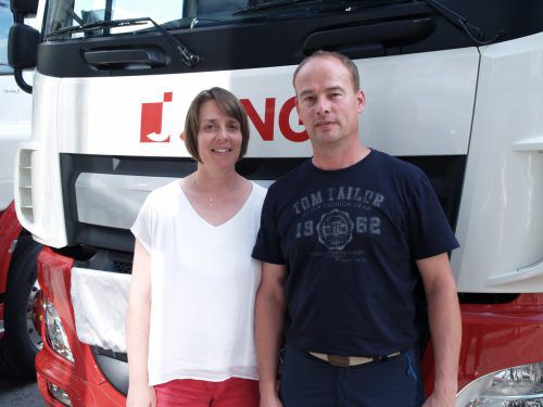 Gästepaar: Daniela und Edwin Jung - heemskerk (Jung Energielogistik).