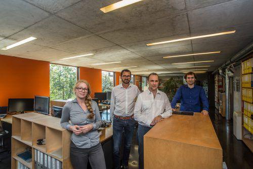 Gehörte im vergangenen Jahr zu den ausgezeichneten KMU: die Firma Hecht Licht- und Elektroplanung, Rankweil.  Foto:VN/Steurer