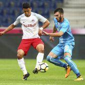 RB Salzburg nur 1:1 im Hinspiel gegen Rijeka