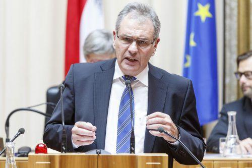 Mit dem Jahreswechsel übergibt Mayer den halbjährlich wechselnden Bundesratsvorsitz. parlamentsdirektion
