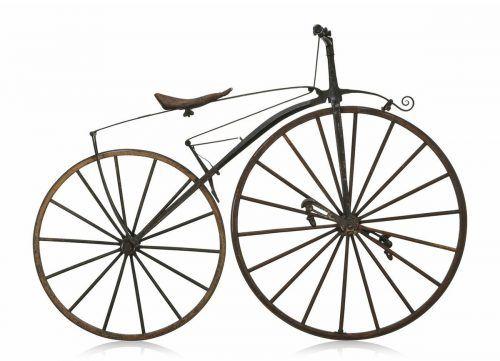 In den 1860er-Jahren wurde in Frankreich das Fahrrad mit Pedalantrieb entwickelt. Foto: SPX