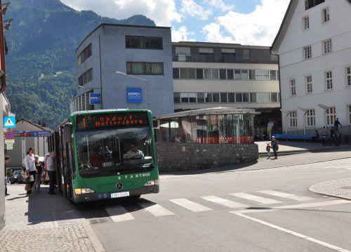In den kommenden zwei Wochen wird in den Bludenzer Stadtbussen eine Befragung unter den Fahrgästen durchgeführt.Foto: Stadt Bludenz