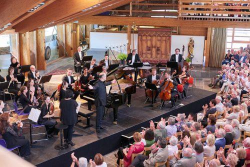 In Lech Zürs findet vom 31. Juli bis 5. August 2017 das Lech Classic Festival statt und präsentiert bereits zum sechsten Mal Musik auf hohem Niveau.foto: lech classic festival