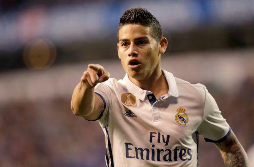 James Rodriguez unterschrieb bis 2019 für den FC Bayern.Reuters