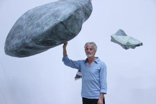 """Johannes Ludescher: """"Die Hand, der Bezug zu den menschlichen Dimensionen, ist mein Maßstab"""". Foto: AG"""