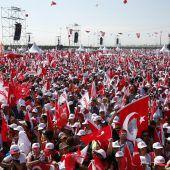Großkundgebung der türkischen Opposition