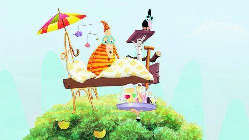 Kurzfilme speziell für Kinder bei der ALPINALE.Foto: veranstalter