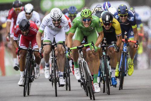 Marcel Kittel sprintete auf der Etappe in Bergerac unangefochten zu seinem vierten Etappensieg bei der aktuellen Tour. Foto: apa