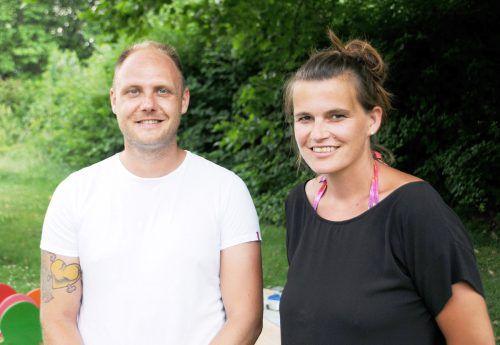 Markus Dür und Martina Piffer-Nagel arbeiten in der Lebenshilfe Hard-Rheindelta. Fotos: ajk