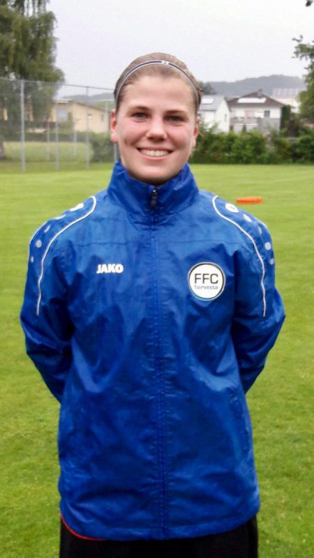 Mit Vorderland in der Bundesliga: Veronika Vonbrül.Foto: Klub