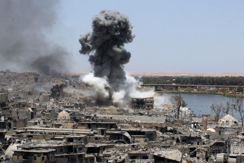 Nach langen Kämpfen liegt Mossul in Trümmern. Foto: AFP