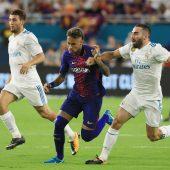 Neymar im Mittelpunkt des ersten Clásico