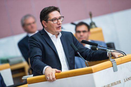 Österreich sei Schlusslicht bei der rechtlichen Gleichstellung in Westeuropa, meint SPÖ-Mandatar Einwallner. Foto:VN/Steurer