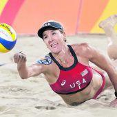 Beachvolleyball liegt voll im Trend