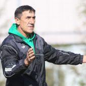 Hohenems mit Trainer Plakalovic im Supercup