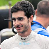René Binder fährt für Renault privaten Test